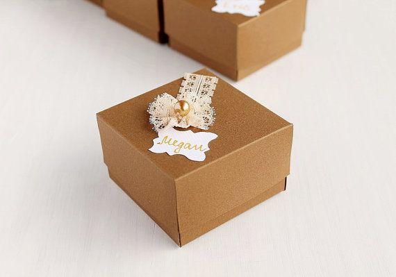 Bridesmaid Proposal Box Personalized Gift Box by LittleWoodCottage