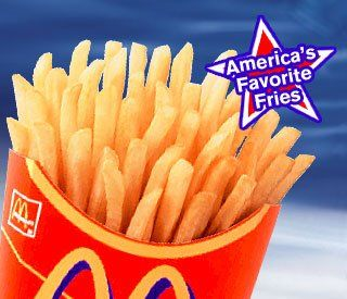 World's Recipe List: McDonald's French Fries - Not quite like MCD's but still really good.