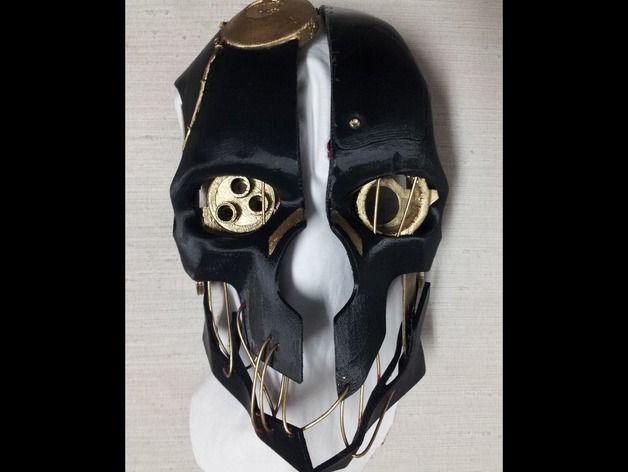 Corvo Maske von Intentional3D - Thingiverse