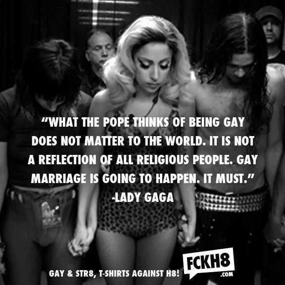 Lady gaga on gay pride
