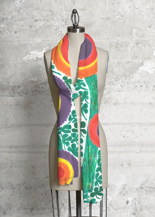 Modal Scarf - Tribal bunnies by VIDA VIDA
