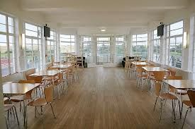 enfield town fc. Cafe interior.