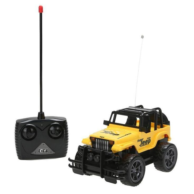 Kids Baby Toy Children's Toys 1:24 Drift Speed Radio Remote control RC Jeep Off-road Машина Дистанционное Управление