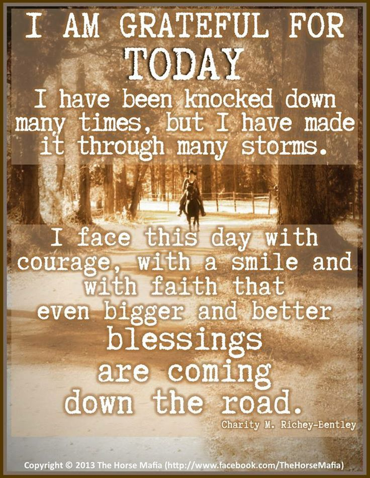 I Am Grateful For You Quotes I am grateful for toda...
