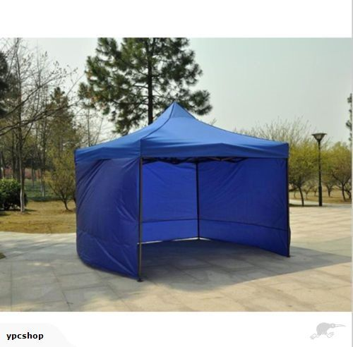 3 x 3M Easy Pop Up Gazebo with sidewall-Blue | Trade Me