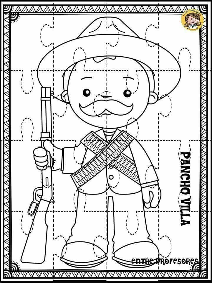 Pin De Lizeth En Fiestas Patrias Mexico Revolucion Mexicana Para Ninos Revolucion Mexicana Para Colorear Revolucion Mexicana Dibujos