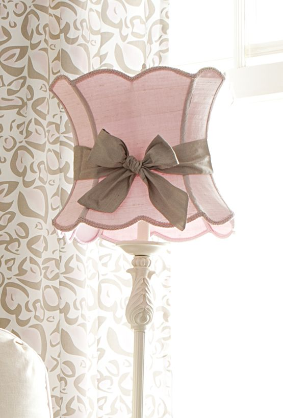 Shabby Chic Lamp...love!