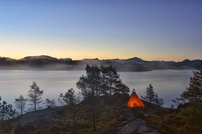 In the wilderness of Sveio, Norway