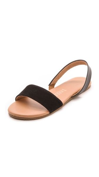 TKEES Charlie Flat Sandals / get 25% off with code FAMILY25 till oct 16