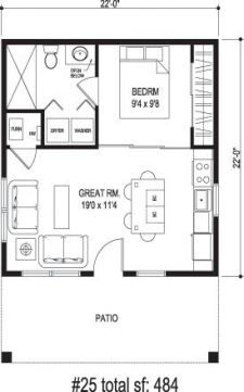 New apartment studio layout floor plans granny flat ideas