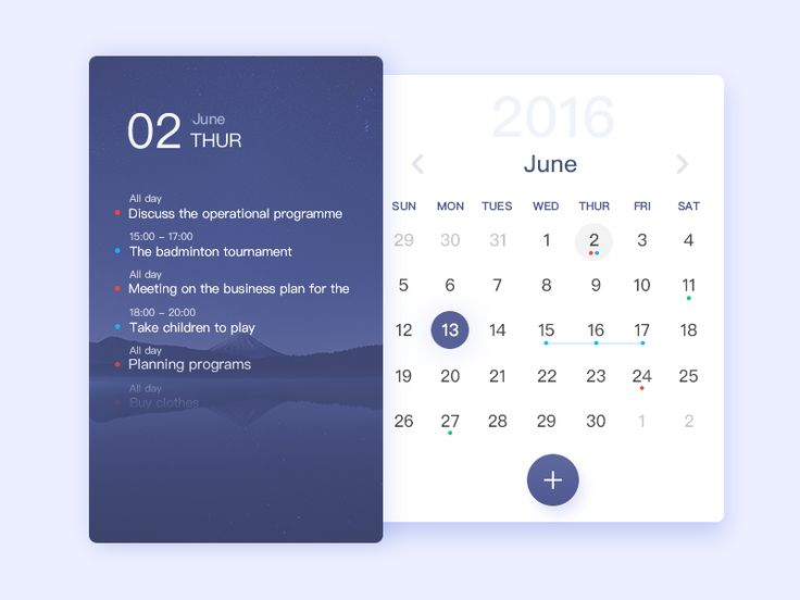 Calendar time arrangement by Charles