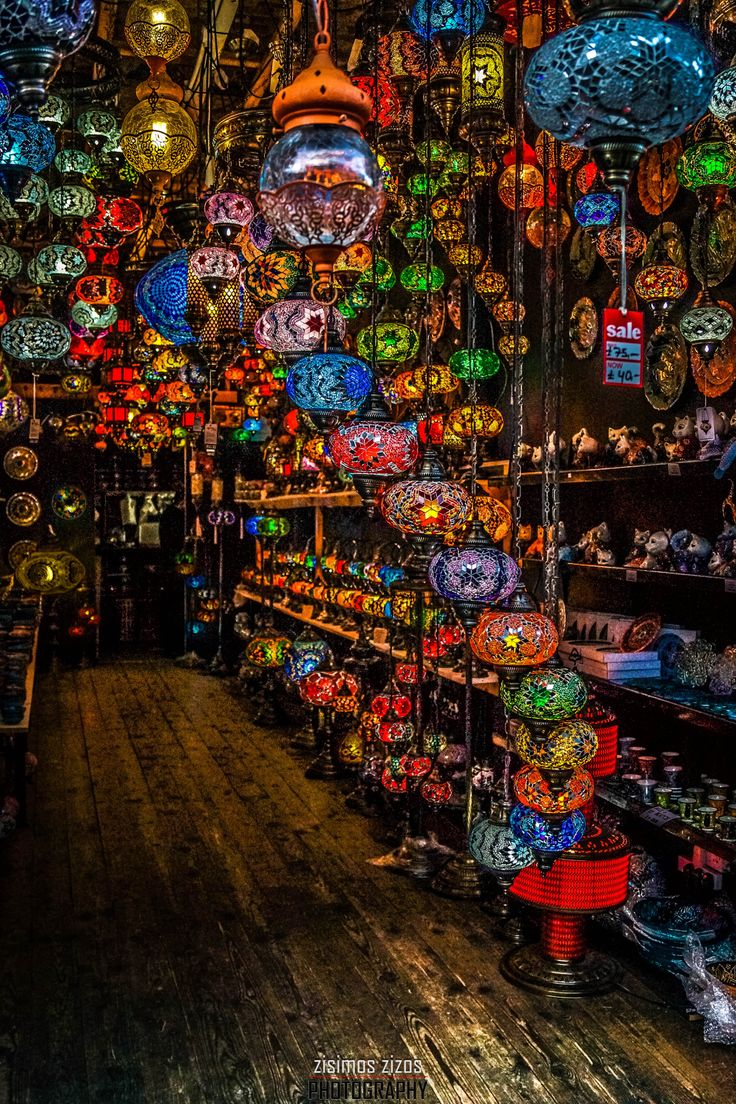 Lamp store in Camden town