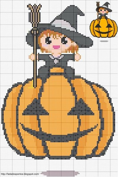 Cross Stitch *<3* Halloween