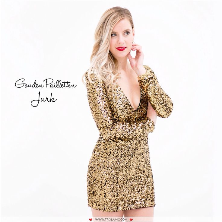 Heb jij al hét ultieme NYE binnen? Deze Gouden Pailletten Jurkje sparkled zó mooi en tot vandaag te koop met 20% korting. Buy now or regret later!   Shop op www.trixlamix.com  #trixlamix #new #newcollection #winter #nye  #boho #style #stylish #fashion #fashionista #glitter #sequins #dress #gold #model #cute #ootd #ootn #outfit #instapic #instagood #love #shopping #dutch