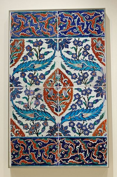 Turkey: Iznik, second half of the 16th century