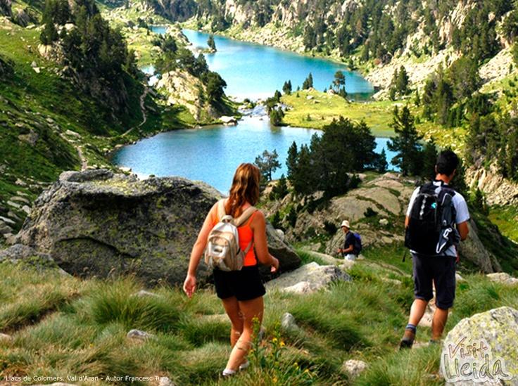 The Colomers Lakes (La Val d'Aran, Lleida Pyrenees-Spain)