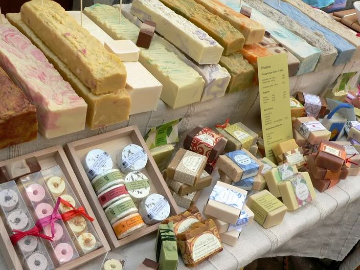 If I ever owned my own boutique.... Sell by weight, fresh cuts on loaves of soap