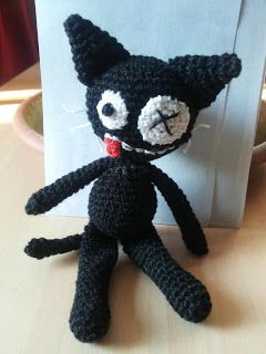 gatto matto incidentato - crazy black cat