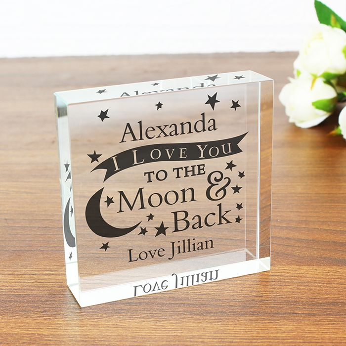 To the Moon and Back Large Crystal Token http://www.wedding-giftsonline.co.uk/to-the-moon-and-back-large-crystal-token-3850-p.asp