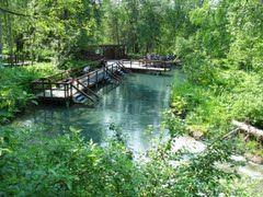 Liard River Hot Springs Provincial Park - Google Maps 59.426094, -126.100953