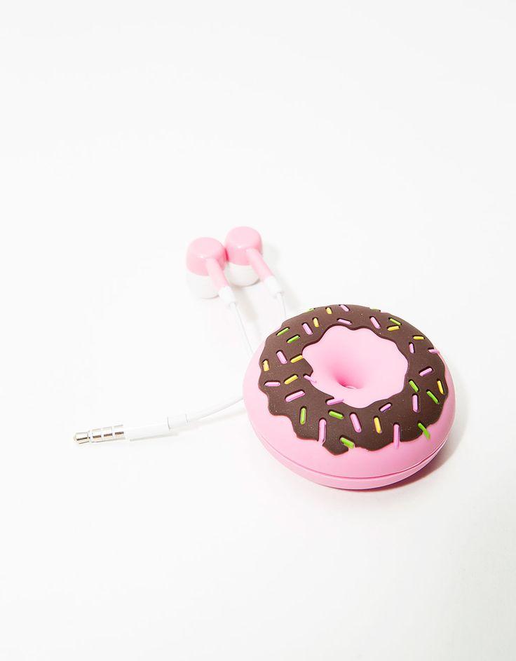 Earphones Donut - Tablet & Handy Zubehör - Bershka Germany