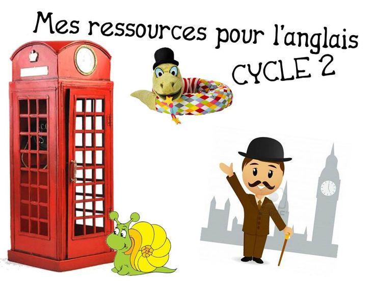 Les outils que nous utilisons pour l'anglais en cycle 2