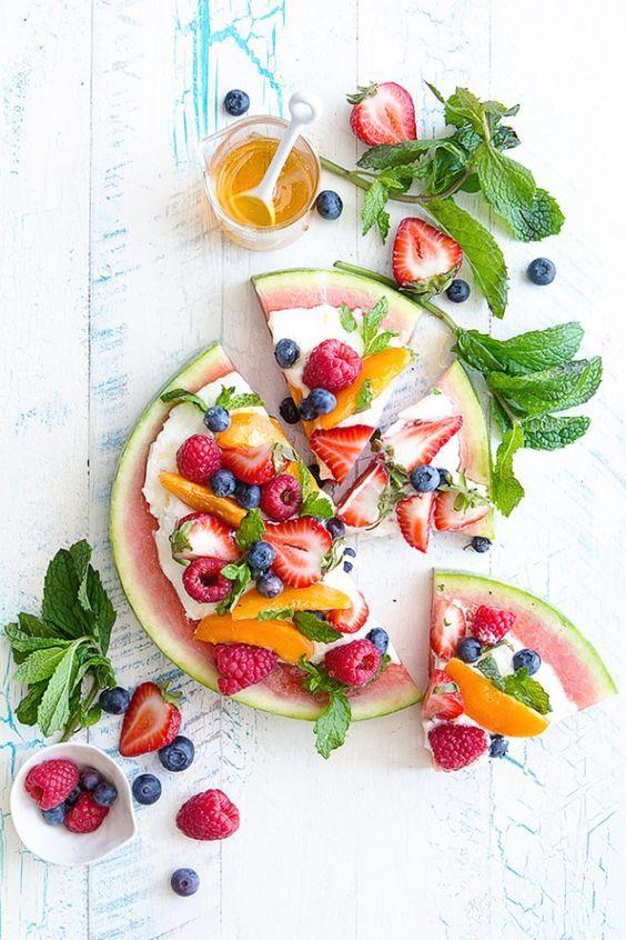 Lekker!!! Recept voor Watermeloen pizza - AZENDA.com