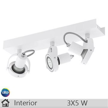 Spot aplicat LED iluminat decorativ interior Eglo, gama Novorio, model 94648