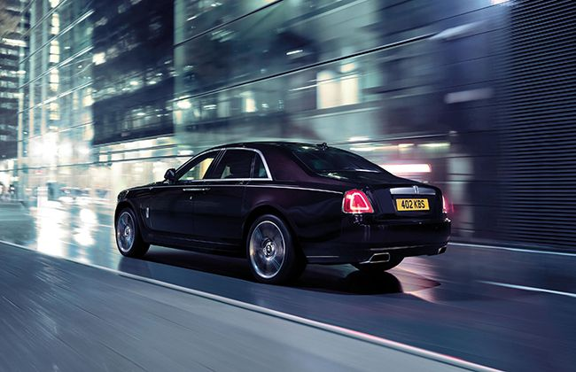 Rolls-Royce Ghost V-Specification introduced in India !