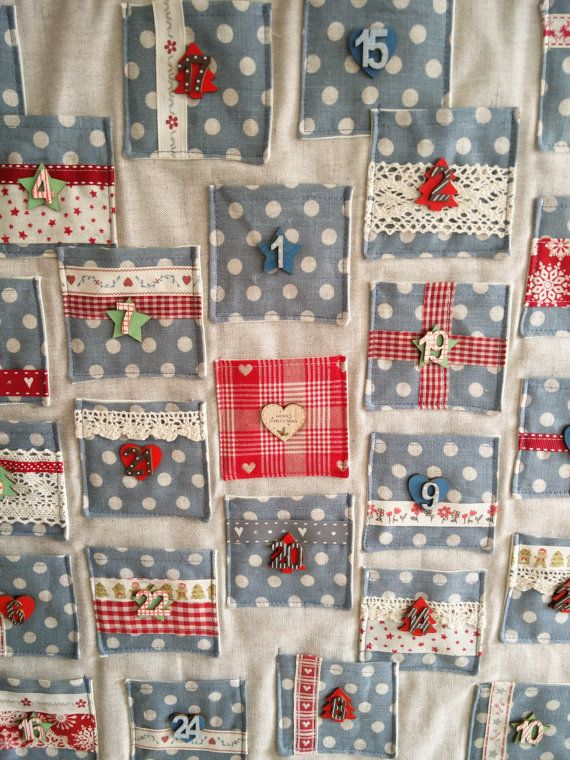 Sewn Advent Calendar Ideas : Best fabric advent calendar ideas on pinterest