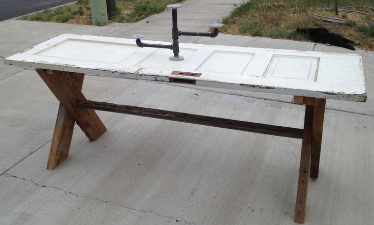 mesa de puerta