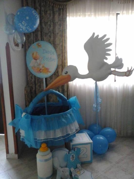 Cunitas de cartón para baby shower - Dale Detalles