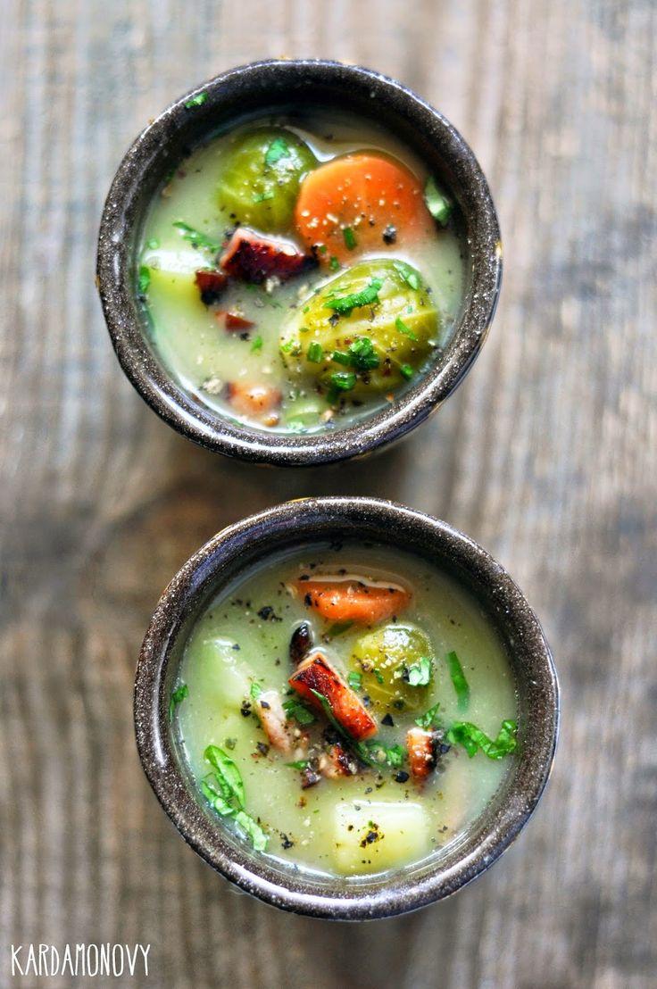 Kardamonovy: Zupa z brukselki
