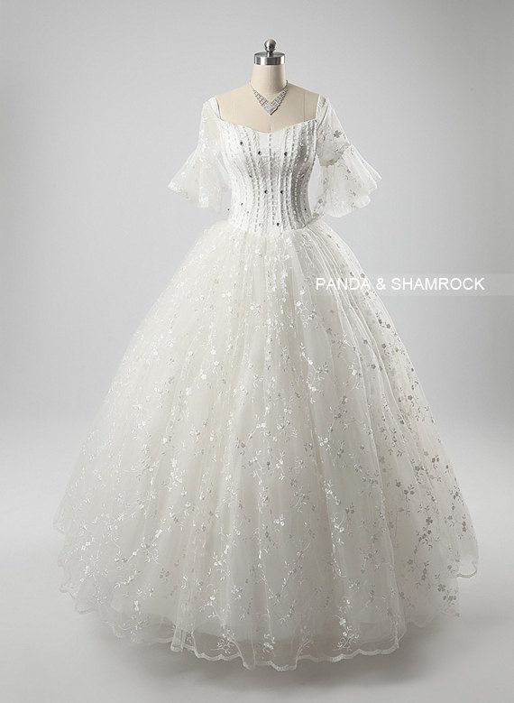 Estelle Wedding Gown Bridal Dress Bride All Size Vintage Style