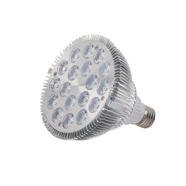 1pcs Full Spectrum Led Grow Light E27 54W Led Growing Lamp for Flower Plant Hydroponics System aquarium Led lighting #AquariumLightingLEDProducts