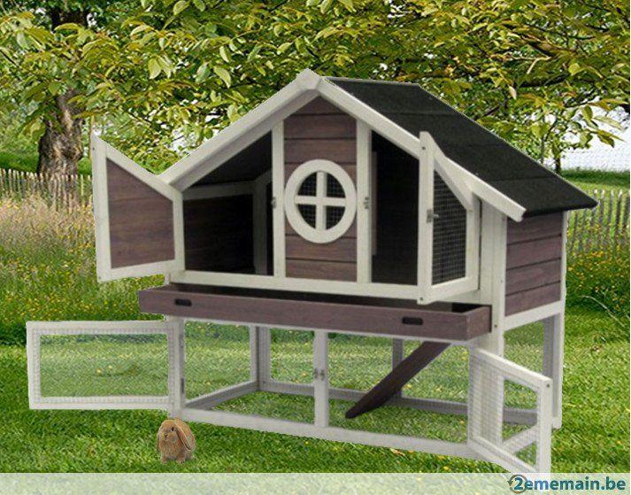 17 meilleures id es propos de clapier lapin sur pinterest clapier lapin exterieur cabane. Black Bedroom Furniture Sets. Home Design Ideas