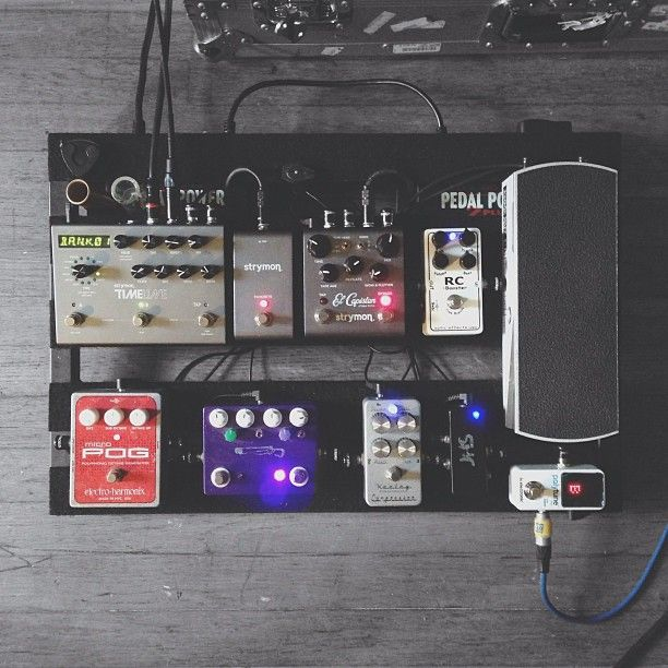 The Things That I Have To Make Sounds Pedalboard IdeasGuitar PedalsGuitar