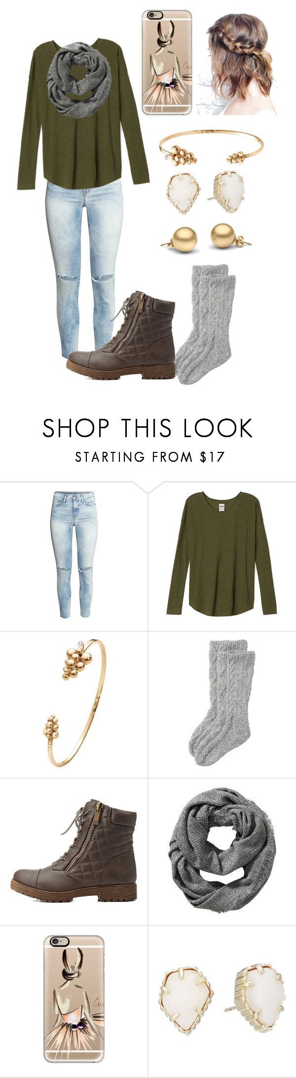 """Untitled #29"" by madelyn-abigail ❤ liked on Polyvore featuring H&M, Georg Jensen, Toast, Charlotte Russe, Old Navy, Casetify and Kendra Scott"
