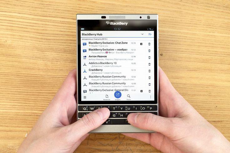 BlackBerry представит новое QWERTY устройство в ближайшие 6 месяцев