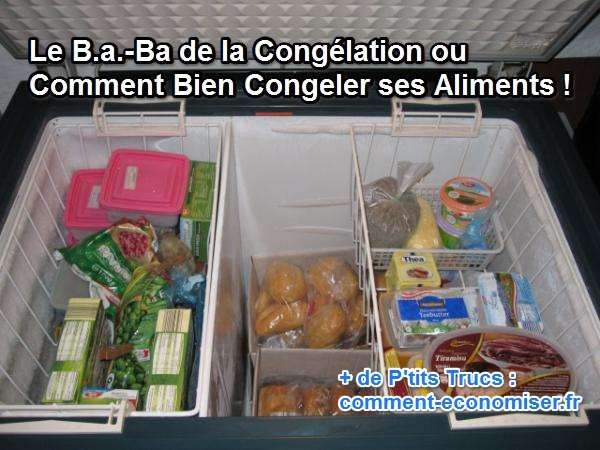 Congeler ses aliments c'est bien, mais bien les congeler, c'est mieux !  Découvrez l'astuce ici : http://www.comment-economiser.fr/bien-congeler-aliments.html?utm_content=buffer113c9&utm_medium=social&utm_source=pinterest.com&utm_campaign=buffer