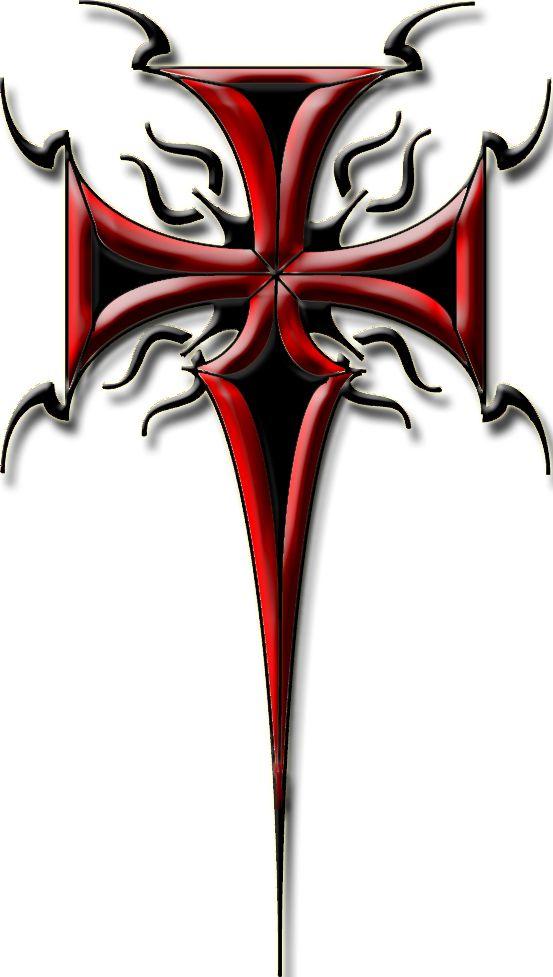 tribal tattoo via cassia Tattoo cross  tribal  tattoo Cross 2 by Celtic Designs Tribal