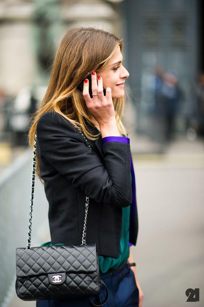 //: Shoulder Bags, Chanel Handbags, Black Handbags, Chanel Bags, Elisa Sednaoui, Fashion Style, Chanel Purses, Bags Pur Clutches, Chanel Black