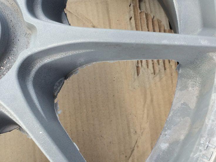 een net gegoten wiel