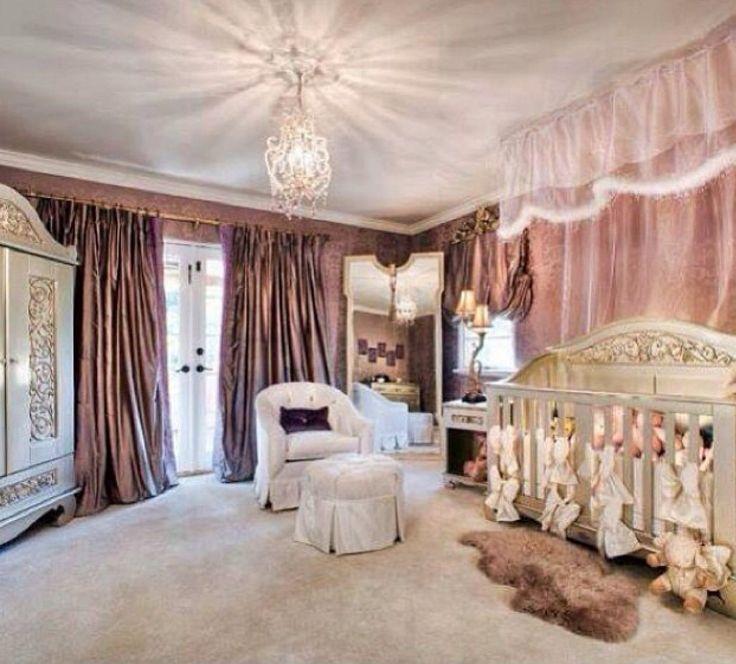Purple Baby Girl Bedroom Ideas 53 best baby girl's bedroom ideas images on pinterest | baby girl