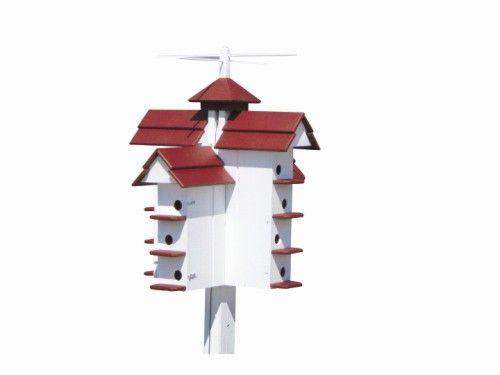 Free Purple Martin House Plans   Free Bird House Plans – Bluebird, Purple Martin, Wren, More