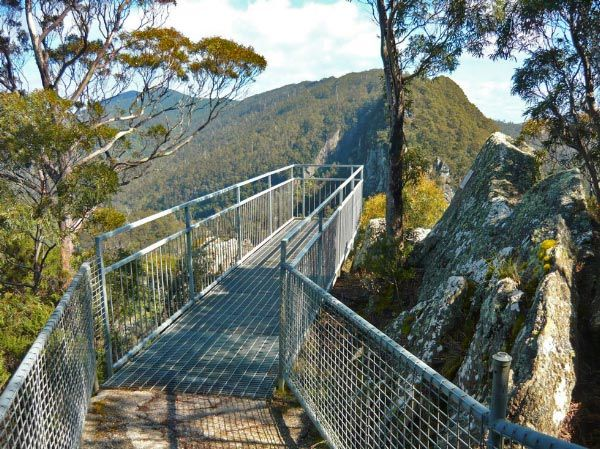Leven Canyon via Ulverstone, north west coast, by Michelle Kneipp Pegler