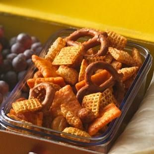 The Original Chex™ Party Mix ~ We made this the traditional way in the oven. It smells so good. I could eat this all day long!