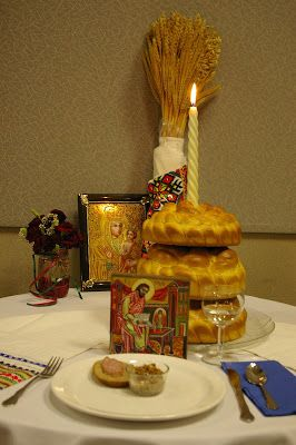 Ukrainian Christmas Eve Holy Supper or Sviata Vechera ,    is a solemn occasion - and first and foremost a celebration of the family.  It co...