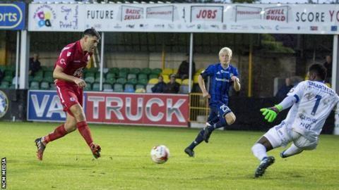 Europa League: FK Vojvodina v Gap Connah's Quay