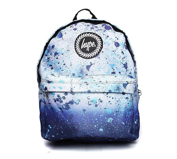 Hype Speckle Backpack   Blue   Footasylum